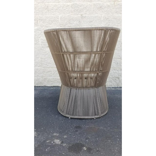 Restoration Hardware Restoration Hardware Havana Fan Chair For Sale - Image 4 of 9