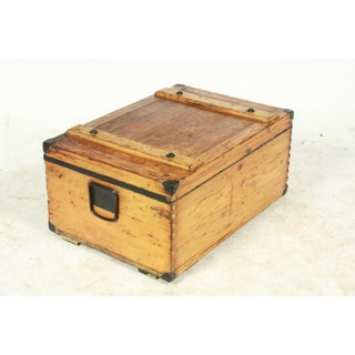 Ww1 William Bal Wooden Military Trunk Preview