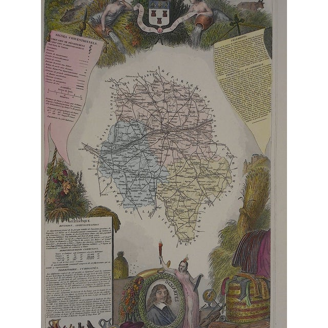 Antique Map Provinces France Engraving - Image 3 of 3