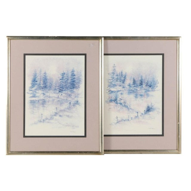 Falciano Landscape Offset Lithographs - A Pair - Image 11 of 11