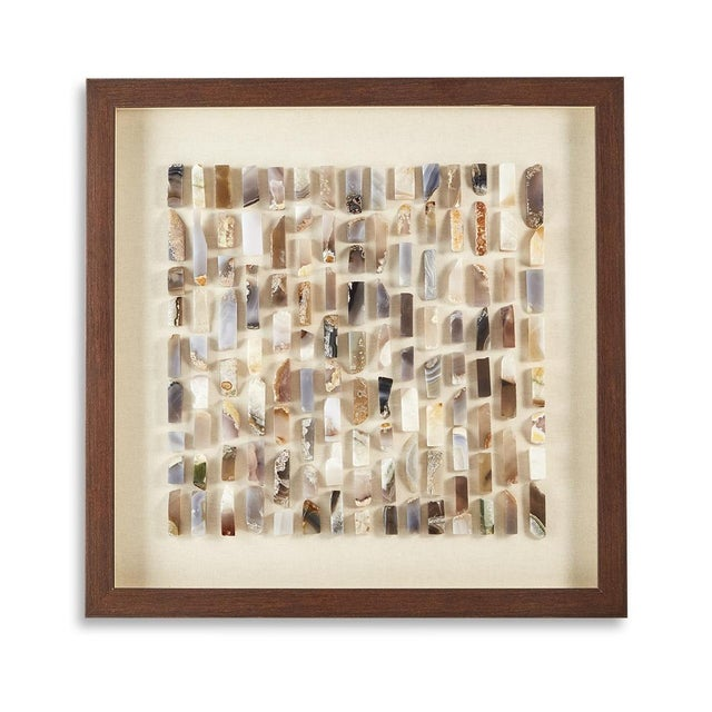 Toazi Home Agate Shadow Box For Sale - Image 10 of 10