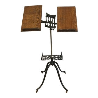 20th Century Antique Early American Dictionary Stand For Sale