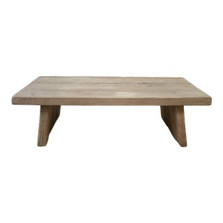 Rustic Restoration Hardware Nordcasa Coffee Table For Sale