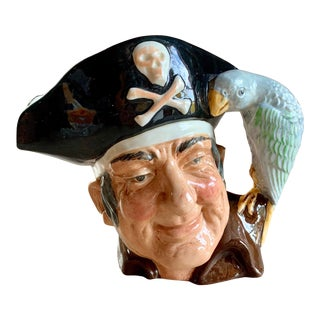 Old Pirate Pitcher by Royal Doulton of England For Sale