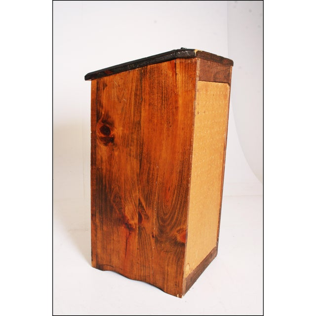 Vintage Rustic Wood Taters & Onions Bin - Image 7 of 11