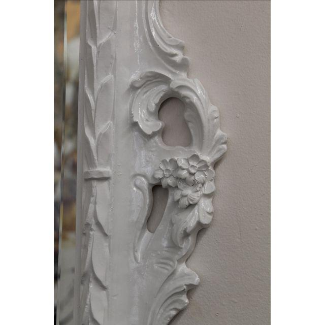 White Baroque Mirror For Sale - Image 5 of 5