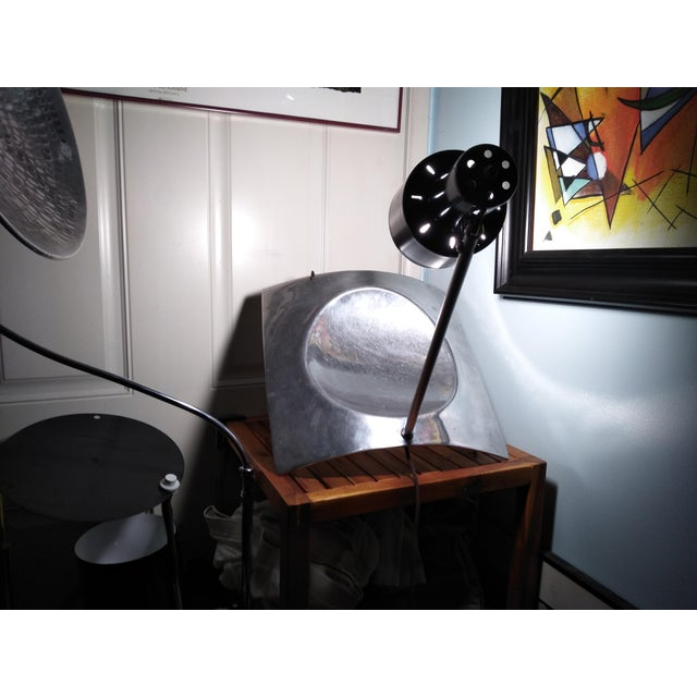 1970s Vintage Mid Century Style Reflector Wall/Ceiling Light For Sale - Image 9 of 12