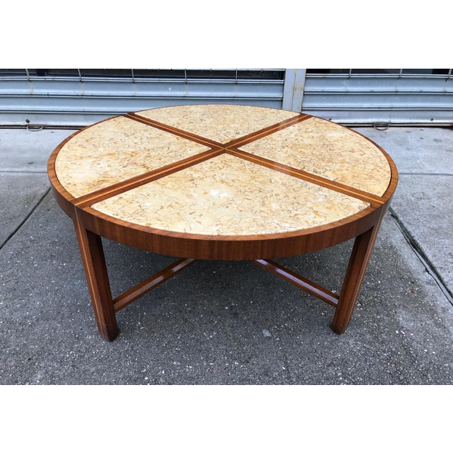 1950s Tommi Parzinger for Charak Modern Coffee Table For Sale - Image 5 of 5