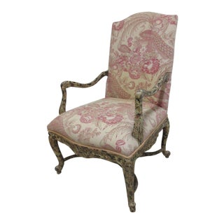 Vintage Baker Lounge Armchair For Sale