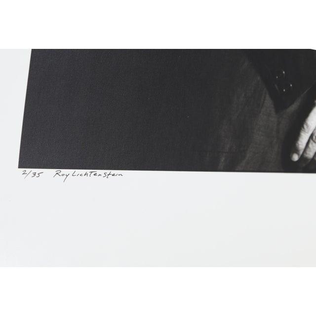 Portraiture Roy Lichtenstein Photo Portrait by Curtis Knapp For Sale - Image 3 of 4