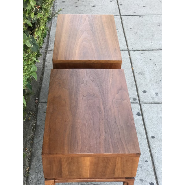 Mid-Century Modern Nightstands by Basic Witz For Sale - Image 9 of 13