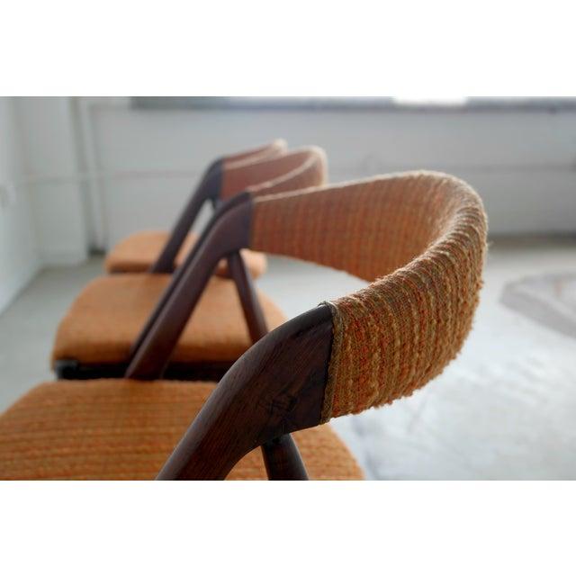 Model31 Kai Kristiansen Rosewood Chairs - Set of 3 - Image 6 of 9