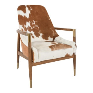 Modern Western Style Arm Chair For Sale