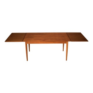 1960s Scandinavian Expandable Dining Table For Sale
