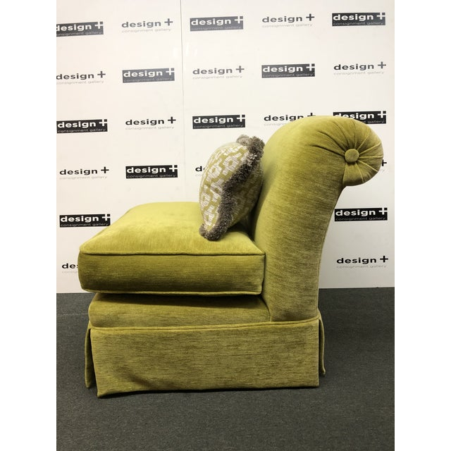 Manuel Canovas Slipper Chairs, a Pair For Sale - Image 4 of 11
