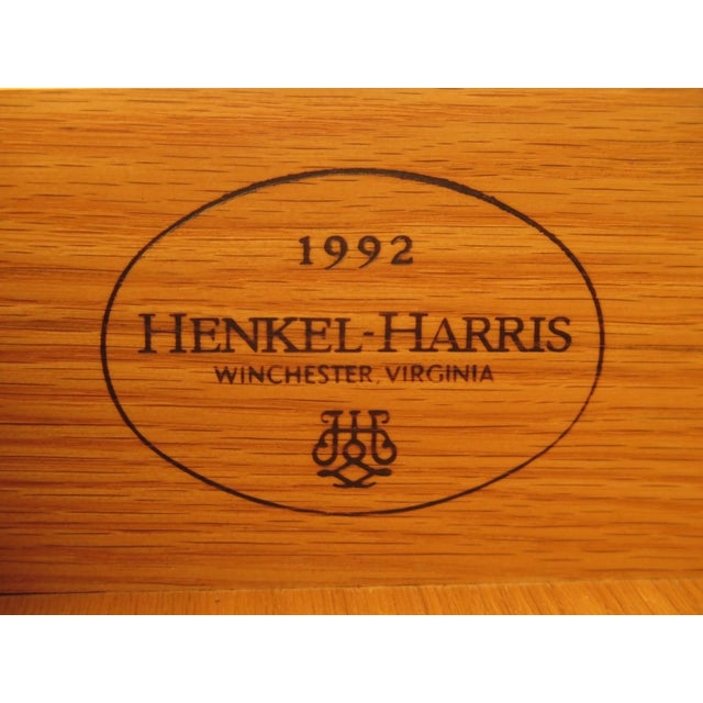Henkel Harris 2-Piece Cherry Perkins Chest on Chest For Sale - Image 10 of 11