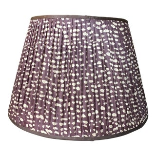 Penny Morrison Amethyst Lamp Shade For Sale