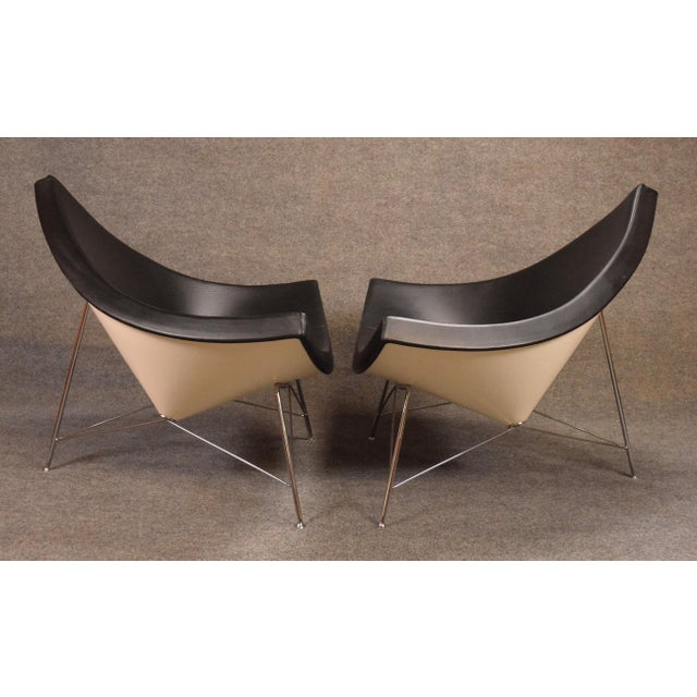 "2000s Vintage George Nelson for Vitra ""Coconut"" Chairs - a Pair For Sale - Image 5 of 13"