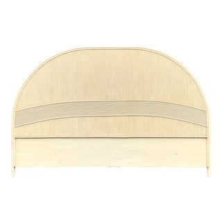 Coastal Pencil Reed King Headboard For Sale