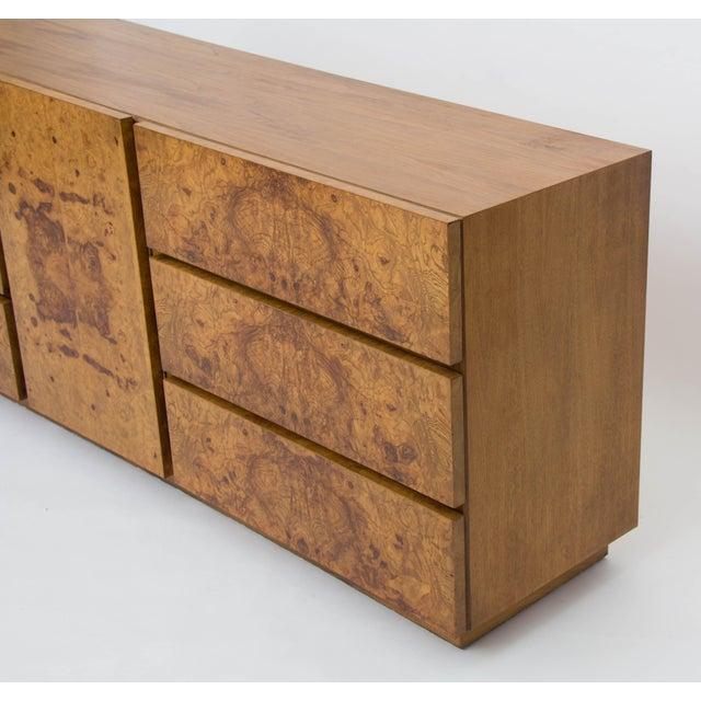 Olive Burl Wood Credenza or Dresser by Milo Baughman for Lane - Image 8 of 8