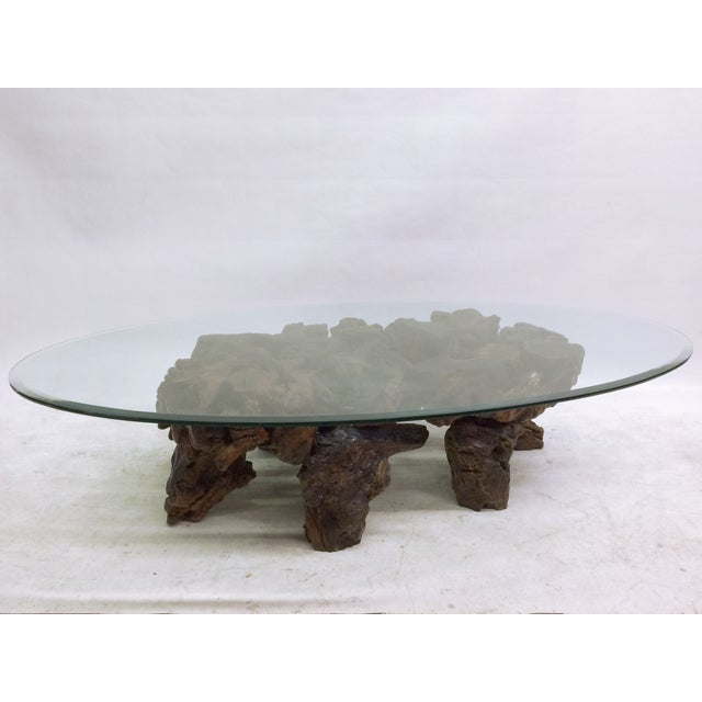 Californian Burl Wood Coffee Table - Image 3 of 6