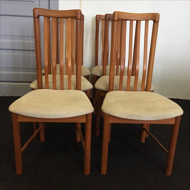 Teak Chairs by Benny Linden - Set of 6 - Image 3 of 11