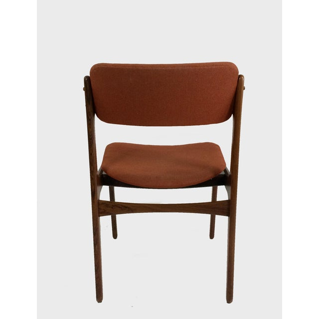 1960s Mid-Century Modern Erik BuchRosewood Dining Chairs by Oddense Maskinsnedkeri - Set of 6 For Sale - Image 5 of 6