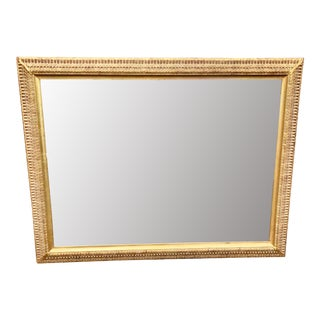 W. & J. Sloane Gilt Wood Neoclassical Mirror For Sale