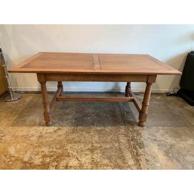 Antique French Farm Dining Table For Sale - Image 9 of 9