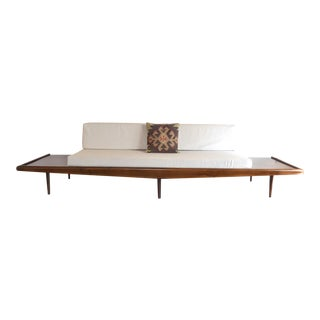 Mid Century Platform Daybed Sofa For Sale