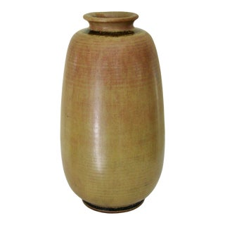 1940s Large Tobo Vase by the Trillers For Sale