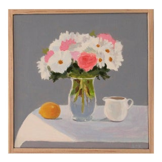 Bouquet, Lemon and Creamer by Anne Carrozza Remick For Sale