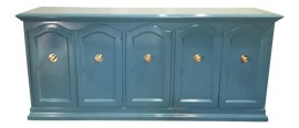 Image of Teal Credenzas and Sideboards