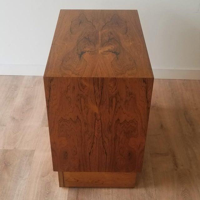 1960s 1960s Poul Hundevad Rosewood Four Drawer Dresser For Sale - Image 5 of 13