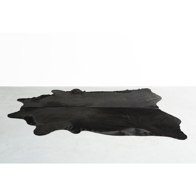 Genuine Brazilian Cowhide, Black - Image 2 of 4