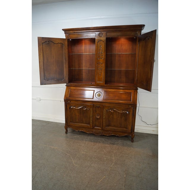 Henredon French Louis XV Style Secretary Desk - Image 8 of 10