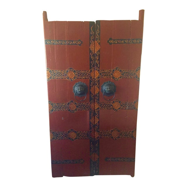 Antique Chinese Wooden Gate Doors - a Pair - Image 1 of 11