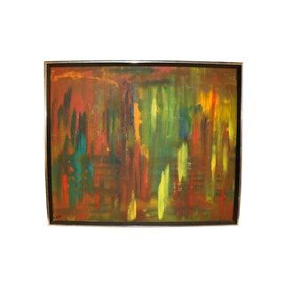 Mid Century Original Andrea Suter Oil Painting For Sale