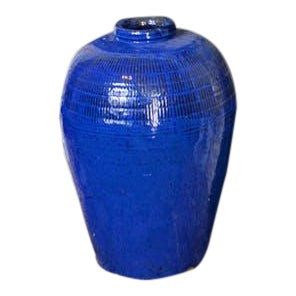 Cobalt Blue Urn