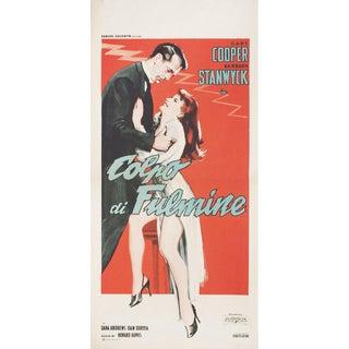 Ball of Fire R1959 Italian Locandina Film Poster For Sale