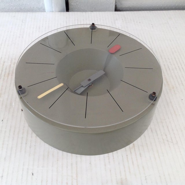 Modern Design Tokei Wall Clock For Sale In San Francisco - Image 6 of 9