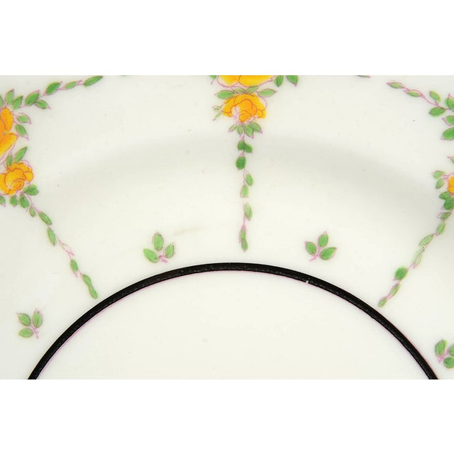 1910s Minton #B930 Salad Plate - Set of 8 For Sale - Image 5 of 8