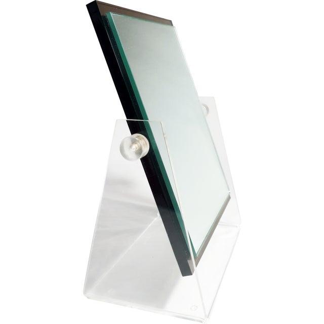 Vintage Lucite Adjustable Tabletop Mirror - Image 8 of 10