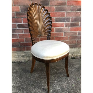 Vintage Venetian Grotto Style Clam Shell Chair Preview