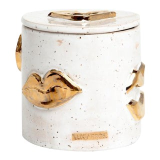 Speckled Sugar Kisses Jar
