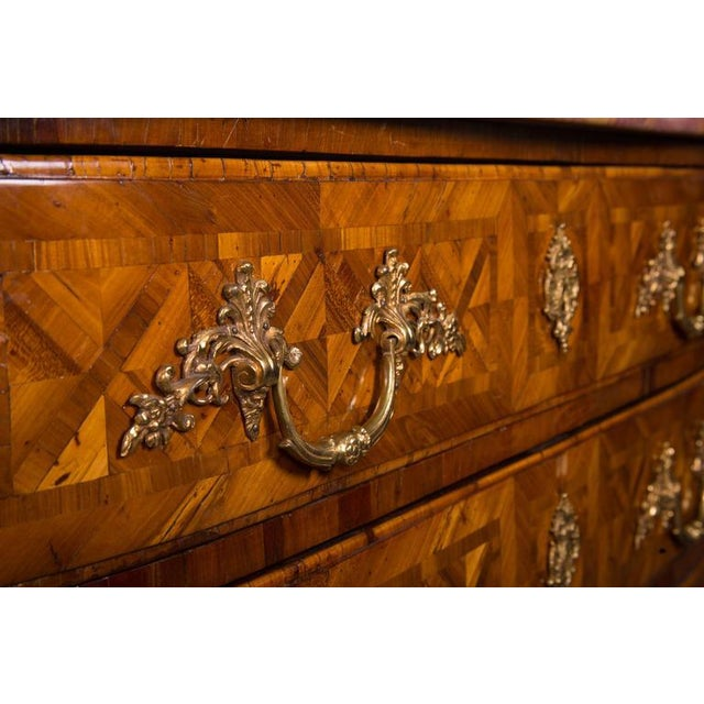 Early 18th Century French Regence Inlaid Commode For Sale - Image 5 of 5