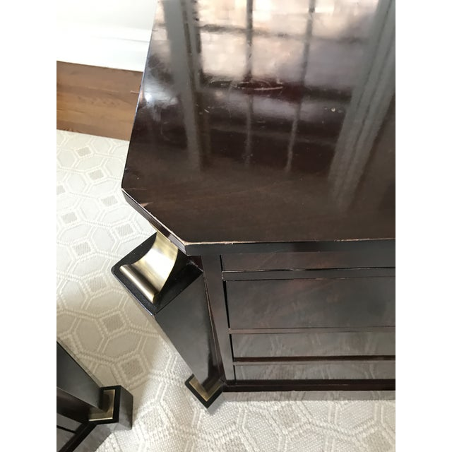 Thomas Pheasant Empire Chest / End Tables - A Pair - Image 8 of 8