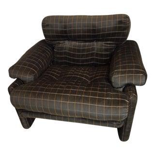 Afra & Tobia Scarpa for B&b Italia Coronado Lounge Chair For Sale
