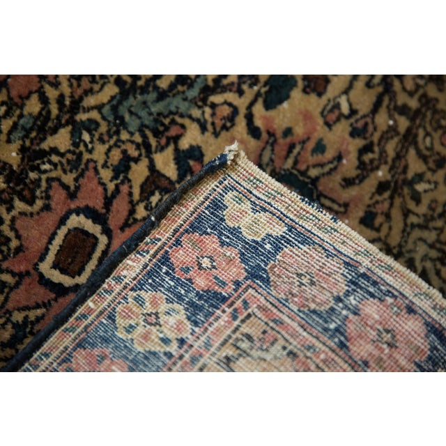 "Vintage Farahan Sarouk Square Rug Mat - 2' X 2'6"" For Sale In New York - Image 6 of 10"