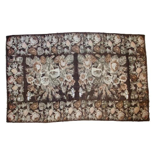 "Vintage Kilim Carpet - 7'8"" X 12'4"" - Image 1 of 8"